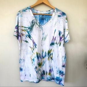 Hanes 💯 cotton tie dyed T-shirt